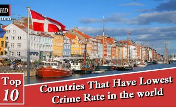 10 Countries With the Lowest Crime Rates
