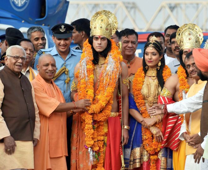 Deepotsav celebrations in Ayodhya