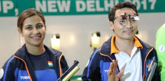 Jitu Rai, Heena Sidhu win mixed team gold at ISSF Shooting World Cup Final