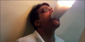 Mumbai man stuffs his mouth with 22 lit candles at once, sets world record - Watch