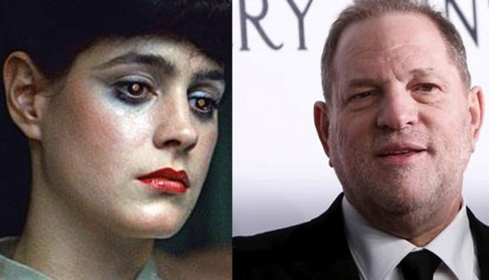 Sean Young accuses Harvey Weinstein of sexual harassment