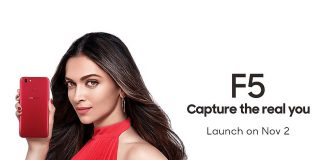 Oppo F5 to launch in India today