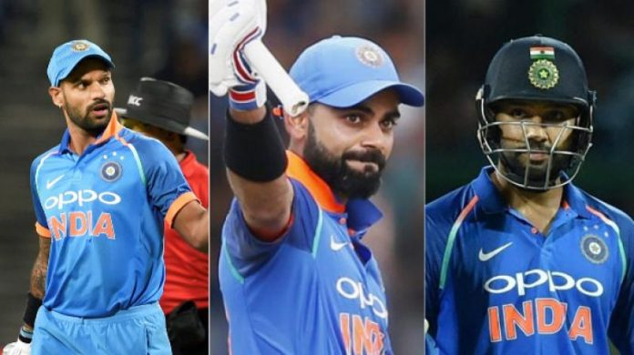 Virat Kohli stays on top of ICC T20 rankings; Rohit Sharma, Shikhar Dhawan move up the list