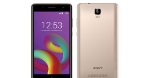 Zen Admire Unity smartphone launched at Rs 5,099