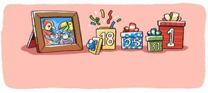 Celebrated by Google With a Seasonal Doodle