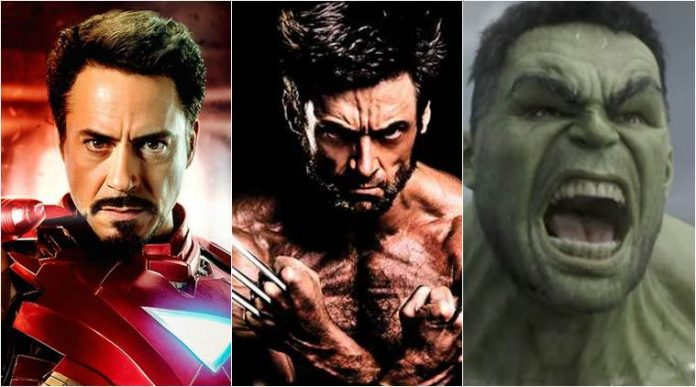Would love to see Iron Man, Hulk, Wolverine together Hugh Jackman