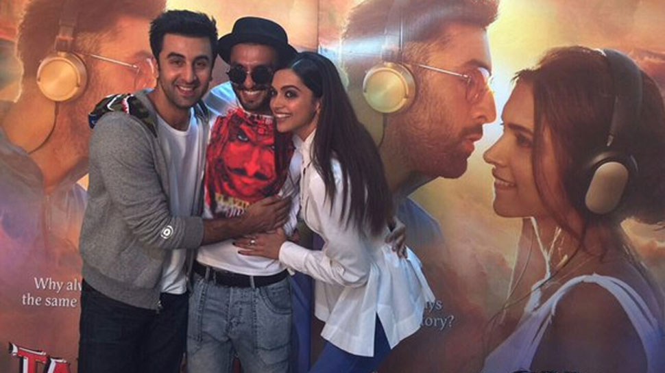 Deepika Padukone's favourite co-star is Ranbir Kapoor and not Ranveer Singh Deets inside