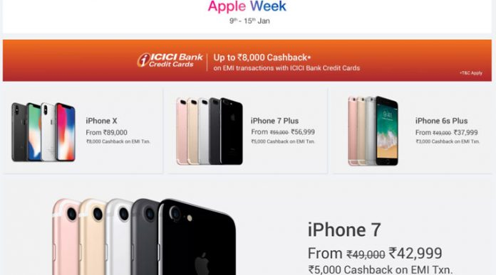 Flipkart Apple Week Check out top deals on iPhone, iPad, MacBook and more