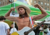 How Naked Cowboy, a Trump supporter, is spreading musical love in Mexico