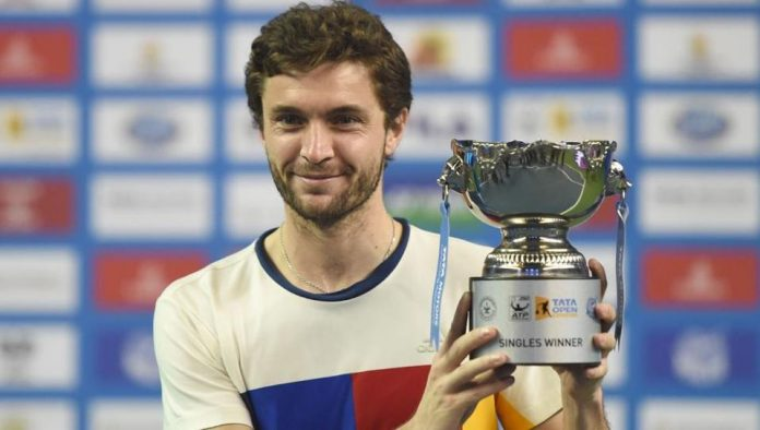 Maharashtra Open Gilles Simon puts misery of 2017 season behind with singles title in Pune