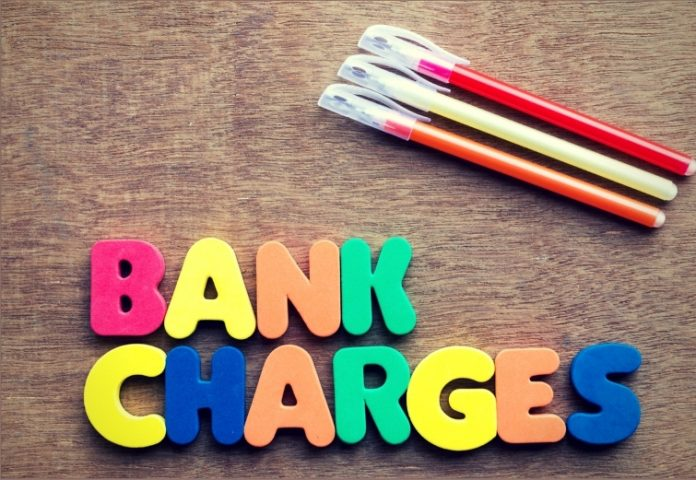 New Bank Charges to be applied in 2018