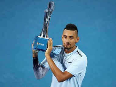 Nick Kyrgios beats Ryan Harrison in straight sets to clinch first title of 2018