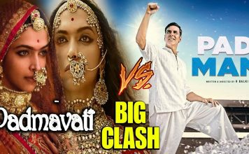 Padmavati and Padman to clash at Box Office