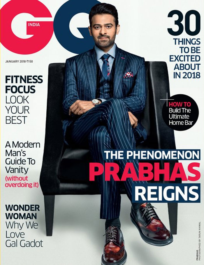 Prabhas looks dapper on the cover of GQ India magazine