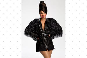Priyanka Chopras Paper Magazine Hair look