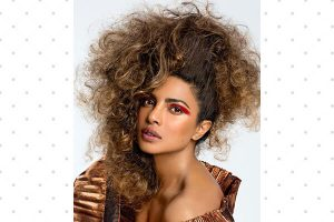 Priyanka Chopras Paper Magazine eye makeup look