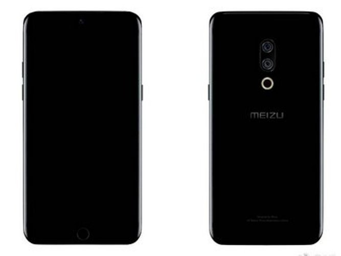 Renders of Meizu's 15th anniversary M15 Plus leak online reveal iPhone-like fingerprint scanner on the front
