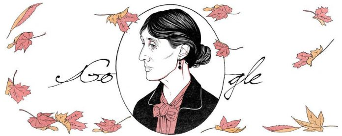 Virginia Woolf Celebrated With Google's Doodle On Her 136th Birthday