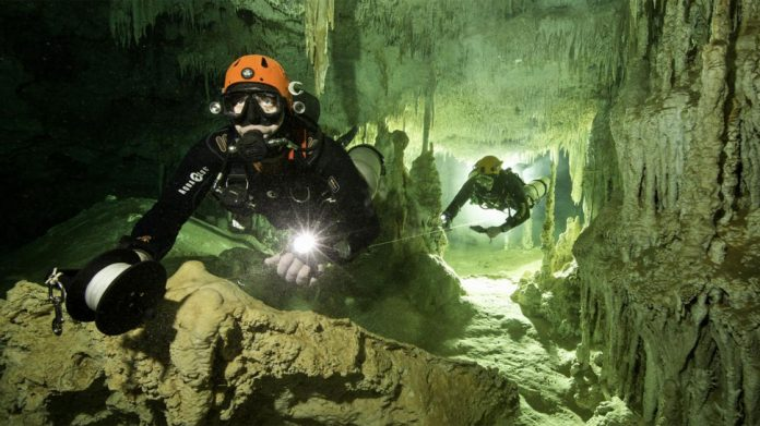 World's largest underwater cave found in Mexico - See stunning pics