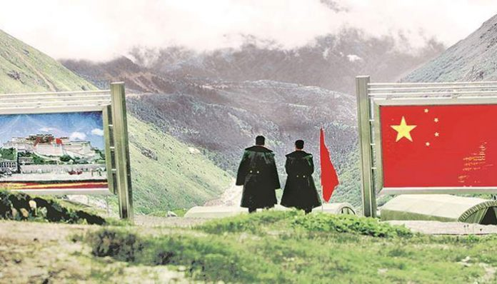 China flexes muscles near border with India, Tibet; gives a warning to US