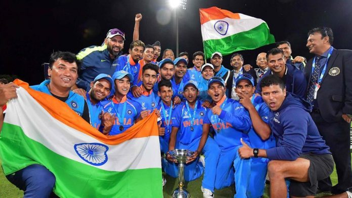 Under-19 final Manjot Kalra Manjot takes centre stage as India beat Australia to win a record 4th World Cup