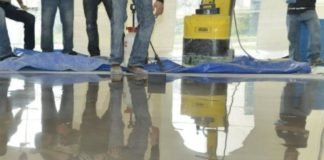 CONCRETE CLEANING CHEMICAL