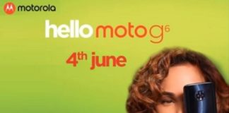 Motorola to launch Moto G6 and Moto G6 Play on 4 June with support for Dual SIM and 'Turbo' charging