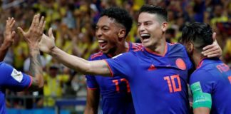 Colombia win 3-0, knock Poland out of FIFA World Cup 2018