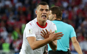 Switzerland defeat Serbia 2-1 in last-minute thriller