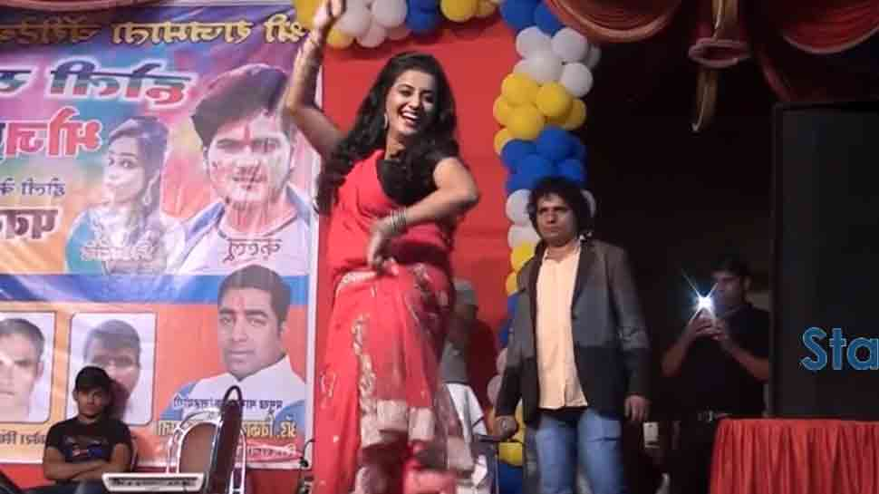 Bhojpuri sizzler Akshara Singh's Holi dance video crosses 22 lakh views on YouTube — Watch