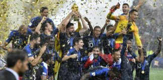 France win FIFA World Cup for second time, beat Croatia 4-2