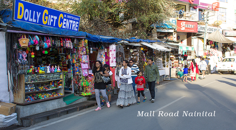 Go Shopping at the mall road