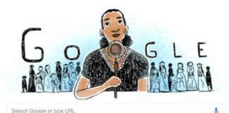 Google Doodle honors civil rights activist María Rebecca Latigo de Hernández