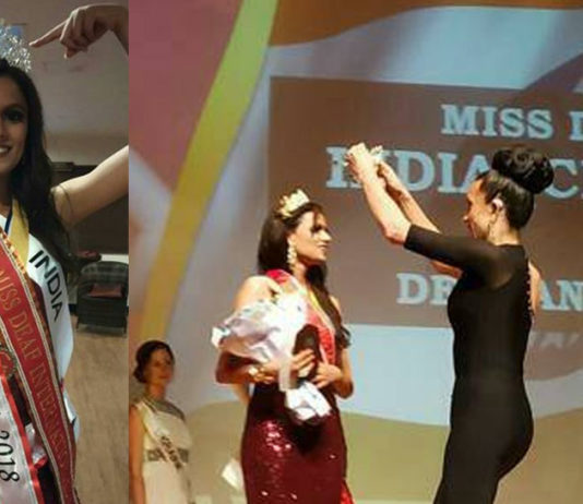 Miss Deaf Asia wants to go to Italy, walk at world fashion show