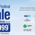GoAir's New Sale Offers Flight Tickets From Rs. 1,099 On 10 Lakh Seats