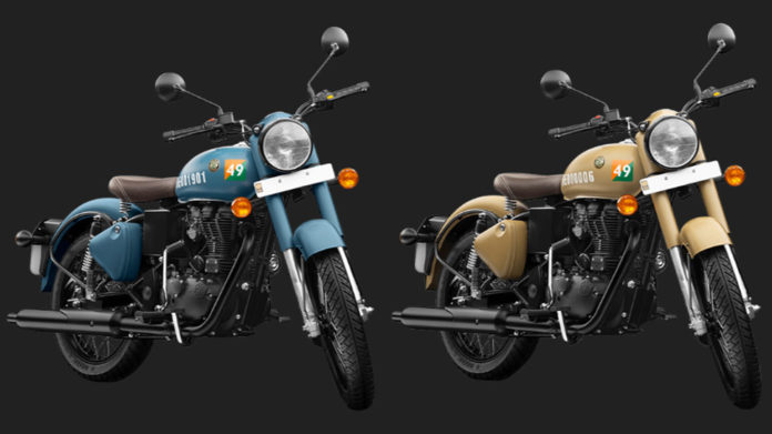Royal Enfield unveils variants in homage to Indian Air Force and Indian Army