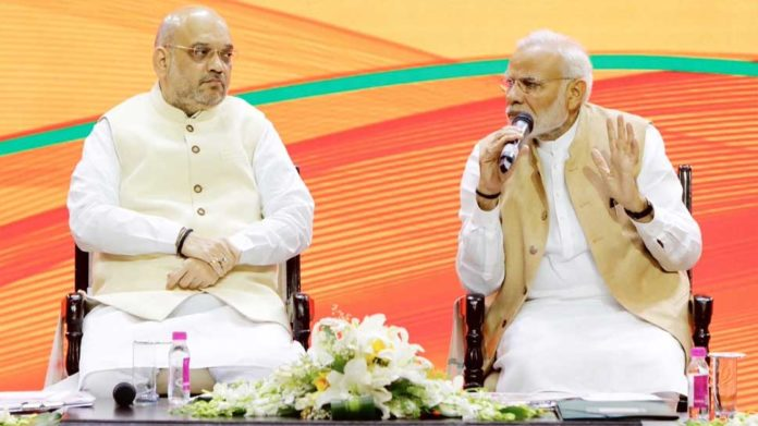 How Narendra Modi helped in developing India Amit Shah pens blog on PM's 68th birthday