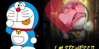 I. M. STEWPEED UPSC website hacked with Doraemon image, title song plays in background