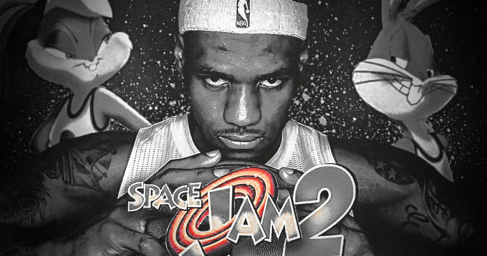 LeBron Goes Full Hollywood, Will Star With Bugs Bunny in 'Space Jam 2'