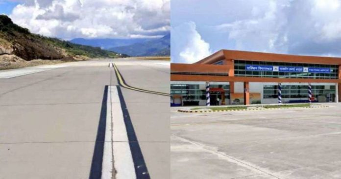 PM Narendra Modi inaugurates Sikkim's first airport