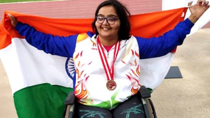 Asian Para Games 2018 Ekta Bhyan bags gold in club throw, Jayanti Behera, Monu Ghangas get bronze in women's, men's 200m