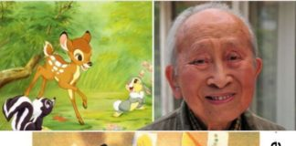 Google dedicates doodle to creator of 'Bambi',Tyrus Wong, on 108th birth anniversary