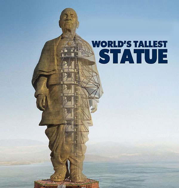 Narendra Modi to unveil 'Statue of Unity', dedicated to Sardar Vallabhbhai Patel, in Gujarat on 31 October