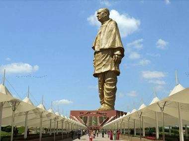 The 'Statue of Unity'