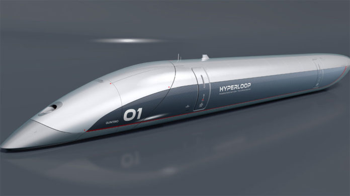 World's first full-scale Hyperloop passenger capsule unveiled