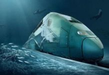 China to build underwater bullet train route