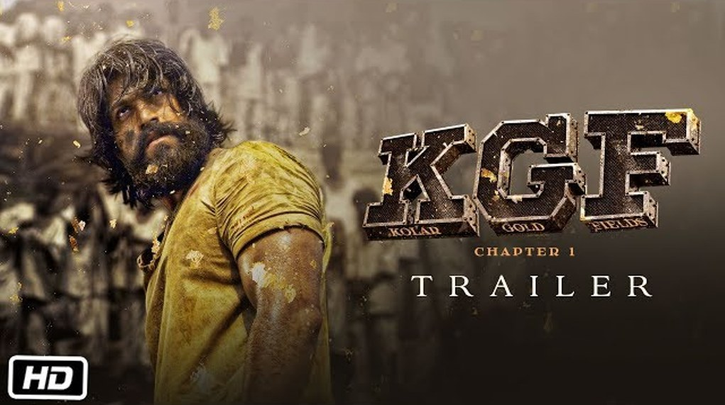 Kgf Trailer Yash As Rocky Rises From The Streets Of