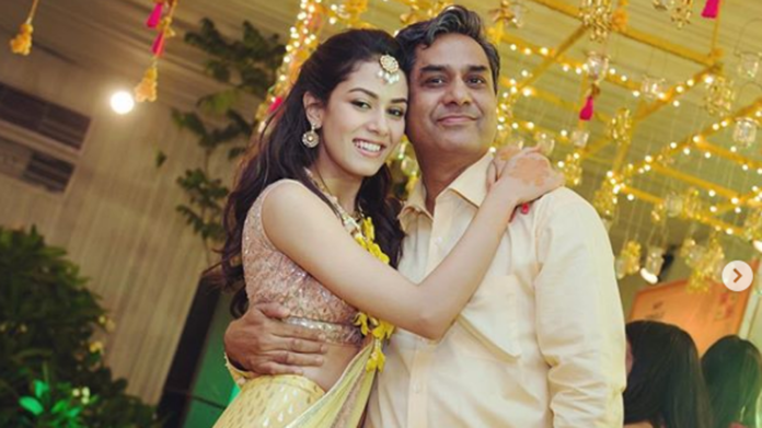Mira Rajput posts a heartwarming birthday wish for her father