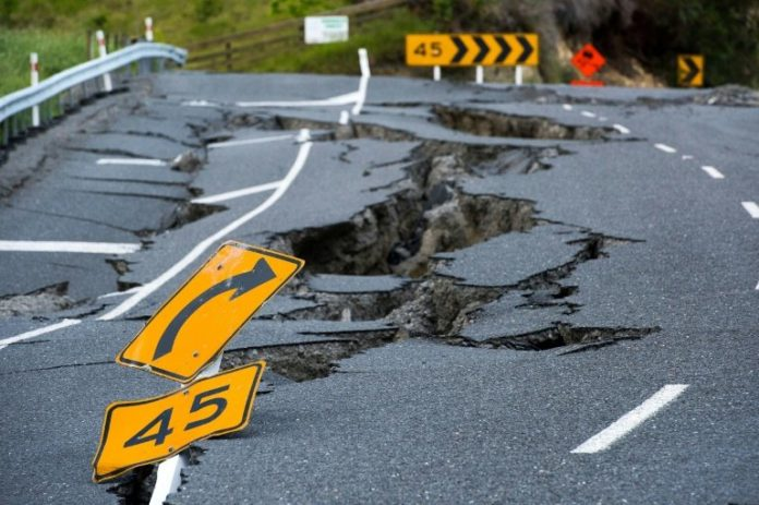 New Zealand's South & North Islands moving closer, one city sinking after 2016 earthquake