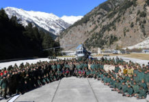 PM Modi celebrates Diwali with jawans at 11000 ft near India-China border, offers prayers at Kedarnath temple